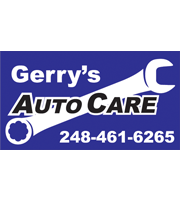 Gerry 39 s auto care inc waterford mi for A b motors waterford mi