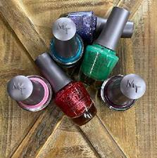 Image of nail polishes