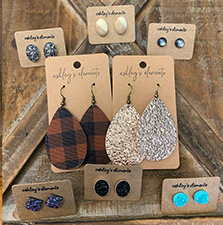 Image of several pairs of earringsx