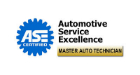 ASE - Automotive Service Excellence Certified