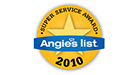 Angies List Super Service 2010 Award