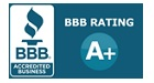 Better Business Bureaus A+ Rating