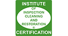 Institute of Inspection Cleaning and Restoration Certification.