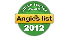 Angie's List Super Service Award '12