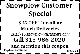 March 2016 Mulch/Topsoil coupon